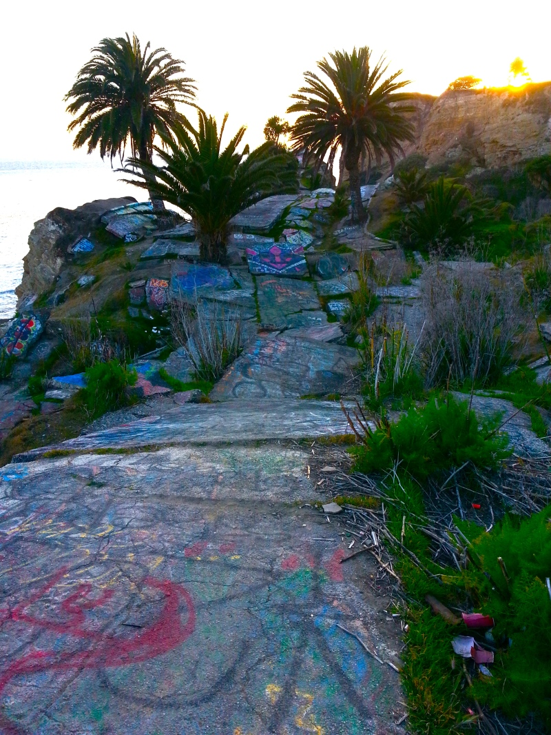 sunken city sunset