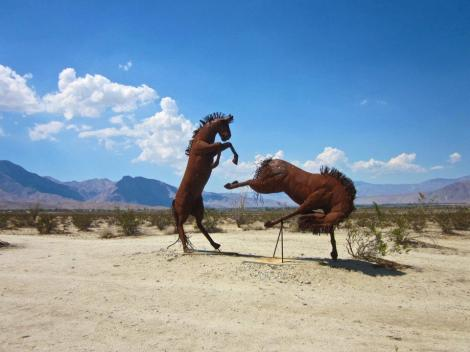 Horse Sculptures Anza Borrego