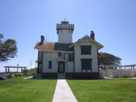 Point Fermin Lighthouse entrance