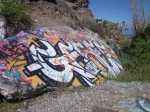 Graffiti at the Sunken City