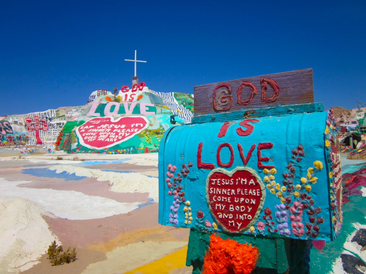 Salvation Mountain: Monument Of Faith