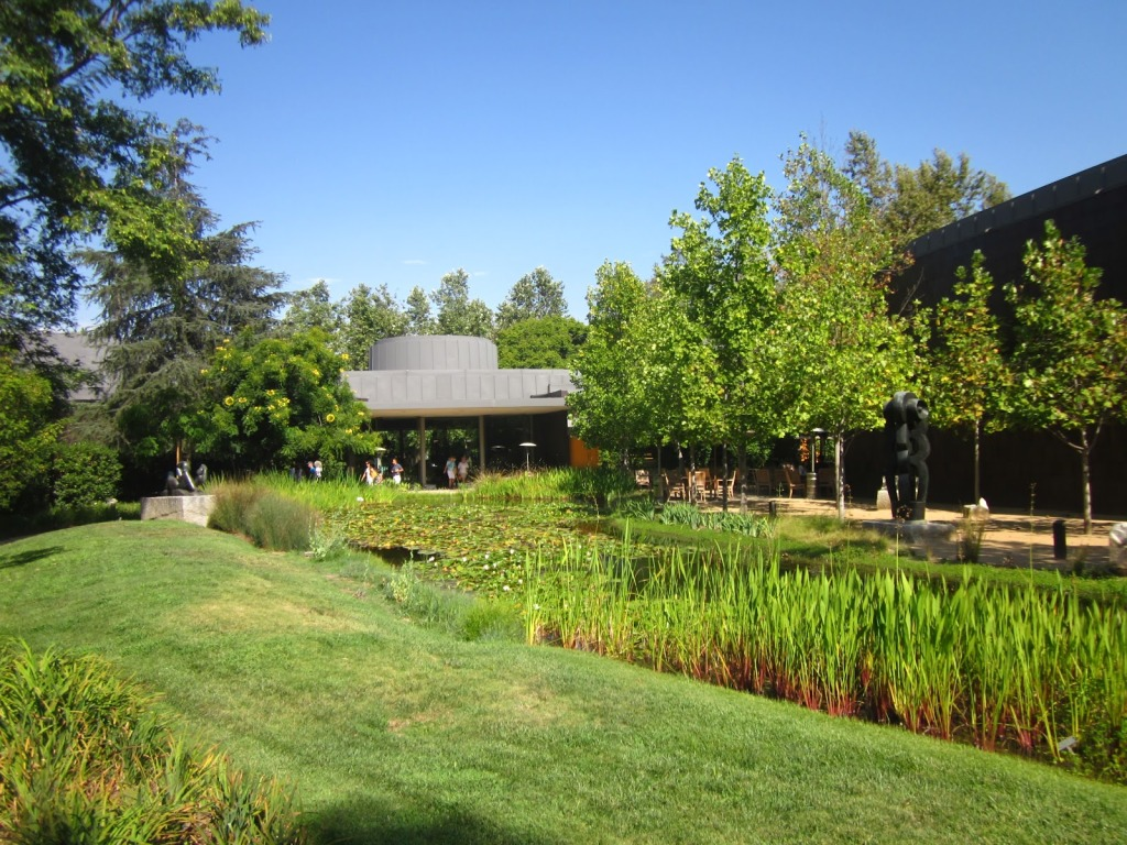garden of norton simon