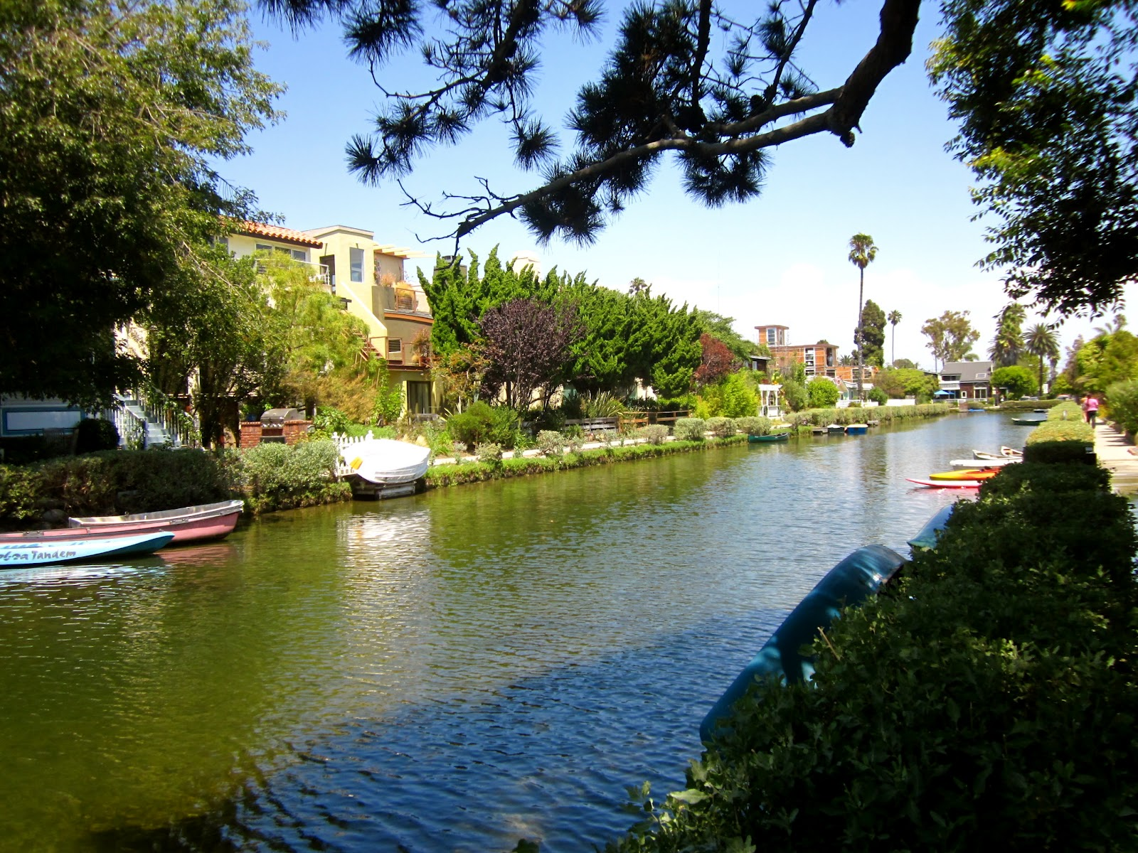 Venice Canals In Southern California One Cool Thing Every Weekend