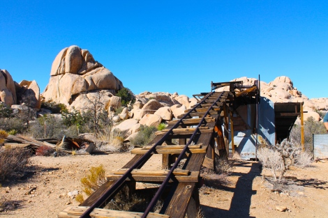 Wall Street Mill Joshua Tree