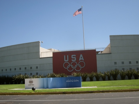 The main olympic training center building