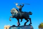 statue balboa park