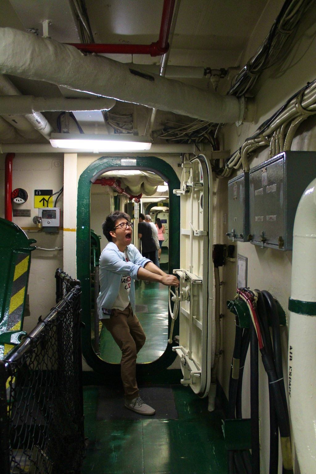 Cruise Ship Engine Room: One Cool Thing Every Weekend