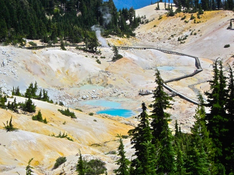 view of the bumpass hell