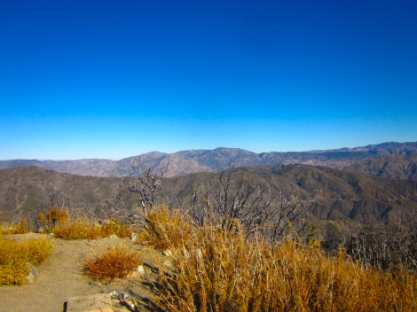 view at the top of san gabriel
