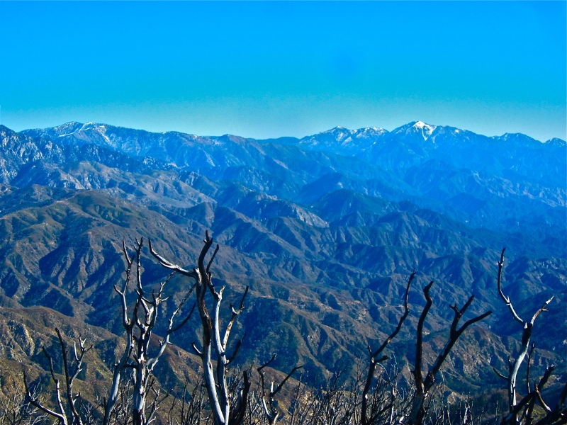 View from the top of San Gabriel peak