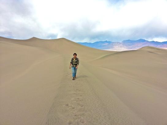 Mesquite sand dune death valley