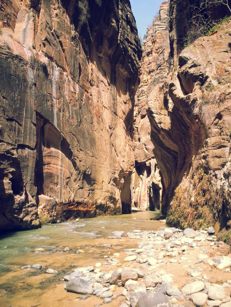 Deep into the the narrows