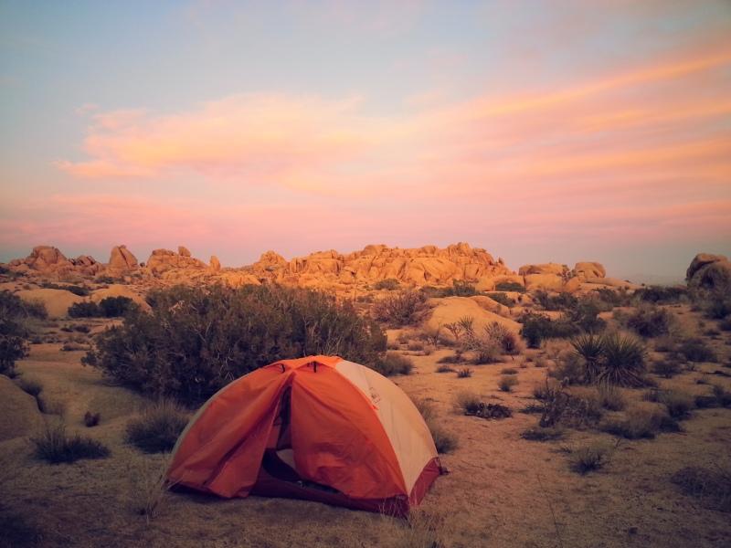 kickass campsite!