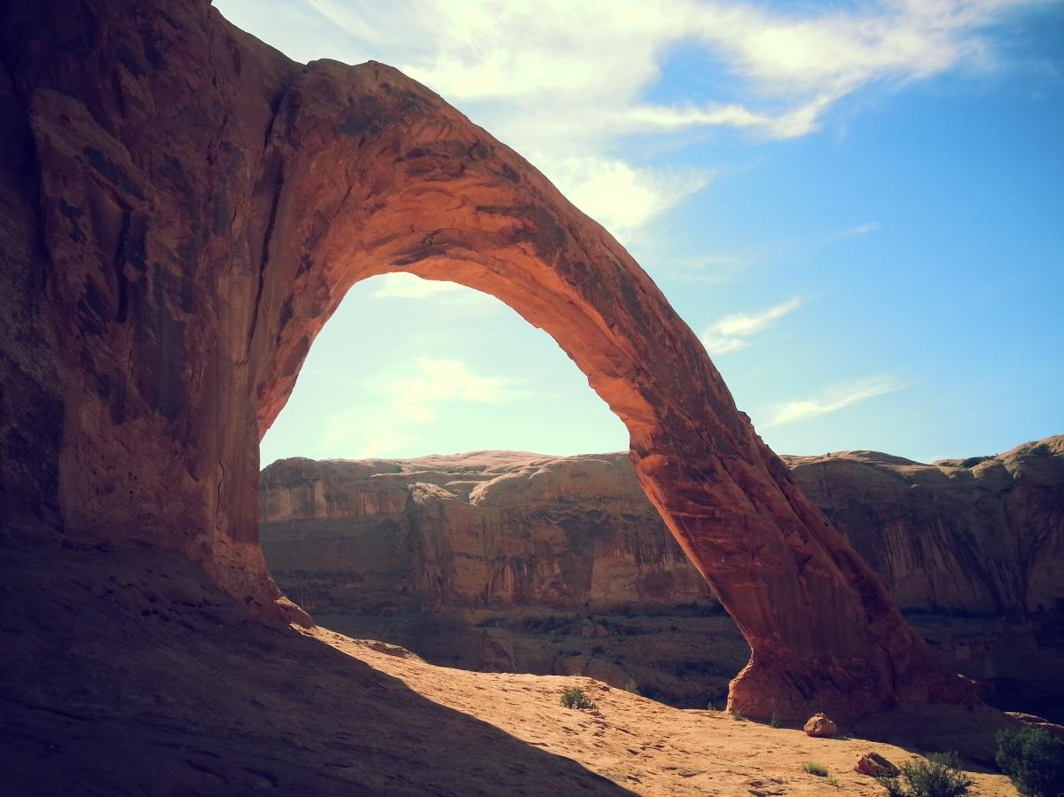Utah's Famous Rope Swing Spot: Corona Arch