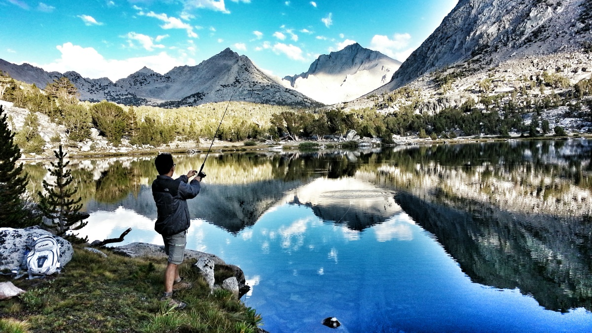 Kearsarge Pass and Fishing in Onion Valley