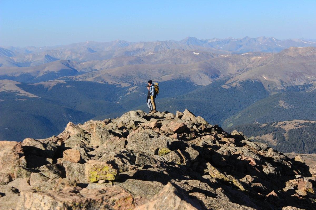Hiking Mt. Bierstadt Hike, One of Colorado's Easiest 14ers